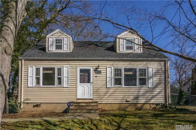 Potential Plus! Great 4-Bdrm, 2-Bth Cape On .28 Acres In S. Huntington! Gleaming Hardwood Floors, Eat-In Kitchen And Part Finished Basement. Mstr Bdrm W/Walk-In Closet. Roof (2012), Boiler (2007) And Cesspool. Freshly Painted & New Carpets 2nd Floor. Covered Porch And 2.5-Car Detached Garage. Low Taxes! Waiting For Your Personal Touches. Don't Let This One Get Away!