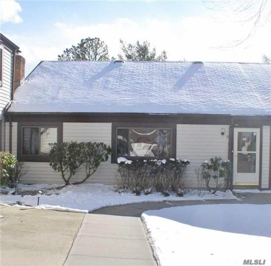 Beautifully Redone Home With New Carpets.. Light & Bright Living Room W/Fireplace, Eik W/Oak Cabinets & Sliding Door To Patio. Bedroom Has A Wall Of Closets, Full Bath W/Tub. Pull Down Attic, Updated Cac, Hw Heater, & Burner. No Upper Unit.