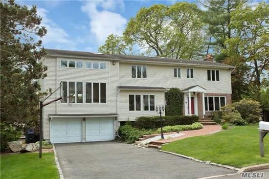 This Spacious Post Modern Colonial Family Home Is Situated In One Of The Most Desirable Areas Of Glen Cove On A Quiet Cul De Sac! The Gracious Home Features: High Ceilings With An Open Floor Plan & Over Sized Windows, Gourmet Eik With A Granite Center Island With The Bkfst Nook Leading To A Beautiful Walk-Out Deck, Wood Flooring Thru Out, And All Updated Baths. 2Much2List!