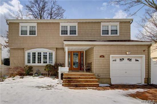 Beautiful Spacious Colonial, Updated Kitchen And Baths, Hardwood Floors, Finished Basement,  Large Yard, Pool Is A Gift, Award Winning Massapequa School District