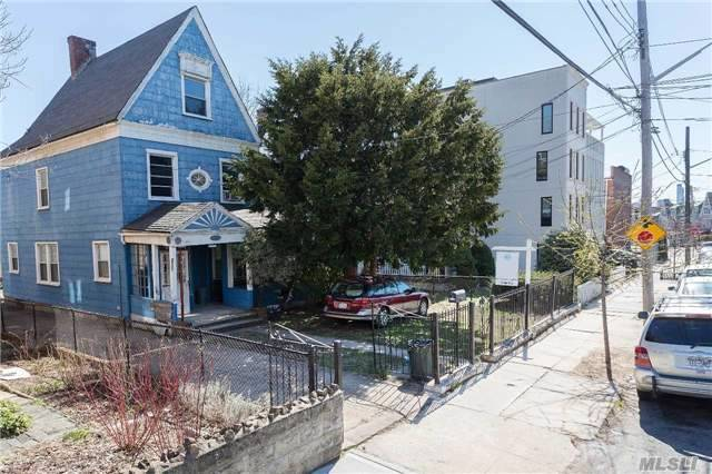 Potential Residential Multifamily Development Site ( 45X122 Sq Ft.) R4/R5 Zoning. Located Within The Astoria Park South Vicinity,  All Offers Must Be Submitted In Writing With Proof Of Funds To Be Considered.