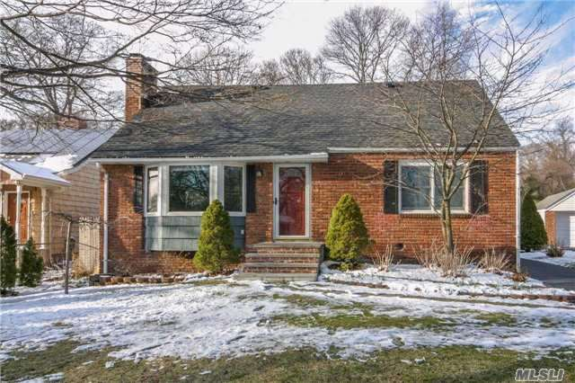 Follow Your Heart Home! Charming 4-Bd, 2-Ba Cape On 1/4-Ac. Light & Bright. Updates Galore Including Cherry/Granite/Stainless Steel Kitchen, Bths, Andersons, New Roof & More! Gleaming Wood Flrs, Raised Panel Doors & Finished Basement W/Fireplace. Spacious, Fenced Yard W/Wood Deck. Free 1-Yr Home Warranty-Details Attached. Move Right In! Don't Let This One Get Away!