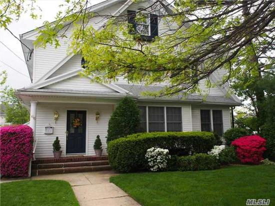 Spectacular Updated Colonial Features 9' Ceilings, Oversized Rooms & Many Amenities. Finely Crafted Trims, Hardwood Floors & Built-Ins Grace The Interior Of This Classic Home. Soundproofed Office Suite W/Private Entrance Is Well Suited To Accommodate An Au Pair Or Musical Family Members Who Enjoy Practicing. A Must See For Those Who Value Quality & Craftsmanship. Low Taxes.