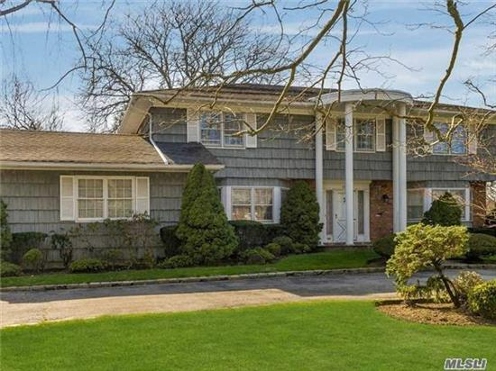 Classic Center Hall Colonial With 5 Bedrooms, 3.5 Baths, Large Rooms, Amazing Property, A Must See.