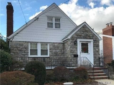 Charming Cape Located In Westwood Area Of Lynbrook A Few Blocks From Lirr Train Station. Great Location In A Highly Desirable Neighborhood. Oak Flooring Throughout On Main And Second Floors. Lynbrook School District. Four Bedroom (Or 3 B/R, One Office), 1 Bath, Eik, L/R And D/R. Potential To Expand In Basement. Needs Some Tlc.