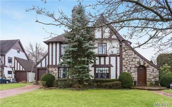 Traditional Tudor With 3 Bedroom 2.5 Baths Located In The Desirable Strathmore Section Of Rvc. This Tudor Has Charm & Detail Throughout With Lots Of Natural Sunlight. 1st Floor Features, Hardwd Floors, Large Living Rm W/Firepl, Formal Din Rm, Eat In Kitch W/ Breakfast Area, Den, Pdrm. 2nd Floor Features Master En Suite, 2 Add Bdrms & Full Bth, Walk Up Attic & Finish Base.