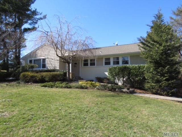 Wonderful Opportunity In Port Jefferson! Small Town Charm; Move In And Enjoy Village Amenities! Newer Roof & Siding; Updated Baths; Large Finished Basement With Full Bath; Cac & Gas Heat; Paver Patio With Hot Tub! Famed Still Time To Get The Children Into The Famed Port Jefferson School District; Private Beaches And Country Club; A Must See!