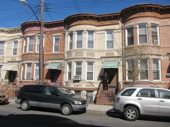 Wonderful 2 Family House In Ridgewood For Sale. Both Floors Feature 3 Bedrooms, Living Room, Eik And 1 Full Bath. 2nd Floor Includes 1 Small Extra Room. Full Basement With 3 Rooms And Half Bath. House In Original Condition, Needs Tlc. Excellent Potential!!!