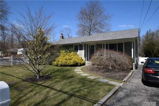 Immaculate & Beautifully, Professionally, Landscaped Ranch. Main Floor W/ Sunfilled Living Room, Eat-In-Kitchen W/ Updated Appliances, Hot Water Heater, New Roof, 3 Bedrooms & Full Bath. Partially Finished Basement W/ Bedroom & Full Bath, Storage. Backyard Offers Bluestone Patio & Mature Landscaping Providing A Private Setting. Blue Ribbon School.
