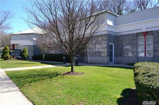 Prime Location, Office Condo, Professional Center. In The Heart Of Huntington Village W/ 50+ Parking Spaces, Waiting Room, Reception Room, Kitchen, Lab, 3 Exam Rooms, Office, 2 Baths, Common Charges $484.