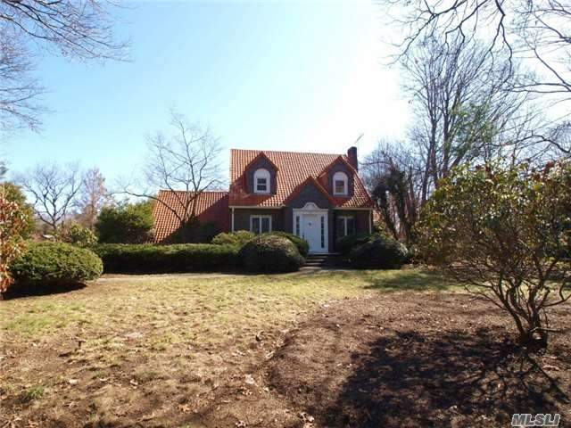 One Of A Kind..This Brick Tudor With Clay Tile Roof Sits On 1.5 Acres. Updates Include Granite Kitchen, Baths, Plumbing, Hydronic Heat And Cac, 200 Amp Electric, Hw Floors. Amazing Property. Must See! Pool And Pool House Are As Is.