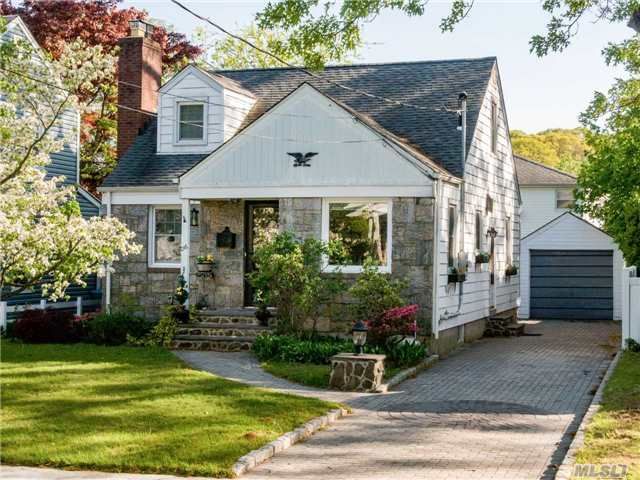 Updated Old World Charming Cape Located On Quiet Dead-End St In Westwood Sd#13. Hardwood Floors, Stone Fireplace, , Beautiful Moldings, Updated Bath, Solid 6 Panel Doors 2 Slim-Line Ac's , Beautifully Paved Driveway W/Detached Garage.