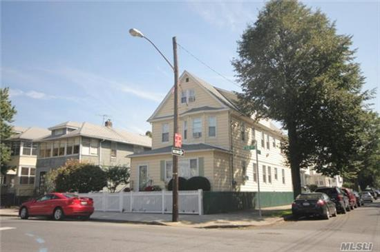 Large Two Family, Three Bedrooms Over Three Bedrooms, There Are 4 Rooms 1 Bathroom On Attic Has Approve Plan. The House Is Well Maintained, Quiet Residential Block, Convenient To Public Transportation And Parks. The Property Will Be Delivered Vacant