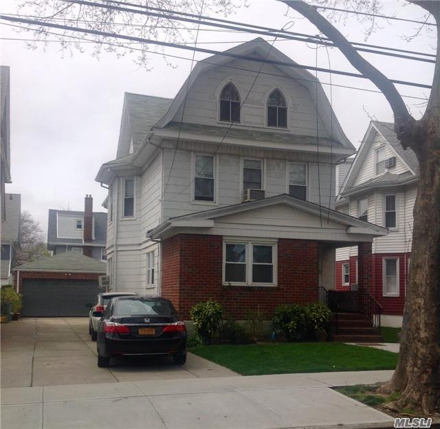 Woodhaven Manor, 2 Family Det Private Driveway For , (7-8 Cars.) 2.5 Car Garage . First Fl 6 Rooms, 2 Fl 5 Rooms, Attic 2 Rooms. Fin, Basement, Best Location Of Woodhaven. Walk To Jamaica Ave Train Station. Mint Condition.