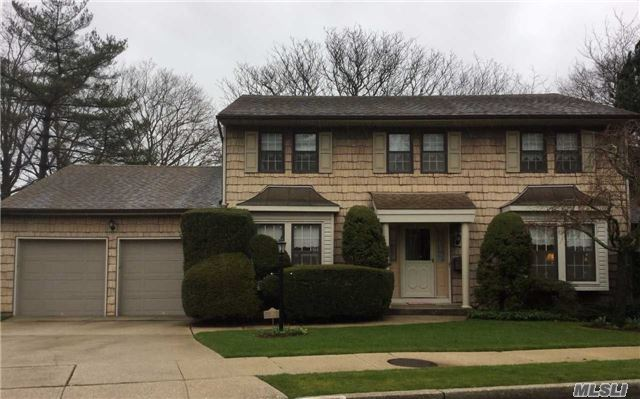 Custom Built 4 Bedroom Colonial W/ X Lg Parklike Private Yard On Cul- De-Sac. Can Go To Either West Hempstead Or Franklin Square Schools. Butlers Pantry Between Fdr And Eik, Lg Warm Family Room W/ Bricked Wall Fpl And Sliders To Covered Patio And Lg Private Landscaped Yard. Master W/ Wi Closet. 2 Car Garage. Don't Miss This Unique Opportunity.