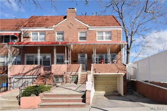 Newly Renovated Semi Detached House. Fully Finished Basement With Private Driveway, Garage. Updated Kitchen, Spacious Living Room. Near Shopping, Transportation, Queens College, Major Highways. Nice Backyard And Front Porch. Mint Condition! Must See!!
