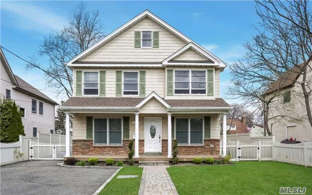 Fabulous Open, Sunny And Airy 4 Bedrm/2 1/2 Bath 11 Years Young Colonial Home W/ All Modern Amenities! This Home Features Living Rm; Formal Dining Rm; Open Eik W/ Breakfast Nook; Family Rm/Den & Powder Rm On First Floor. 2-Tier Steps Leads To Master Suite With 2 Walk-In-Closets & Master Full Bathrm; 3 Add'l Bedrms & Full Hall Bath; Full Basement. Great Backyard! No Shoes.