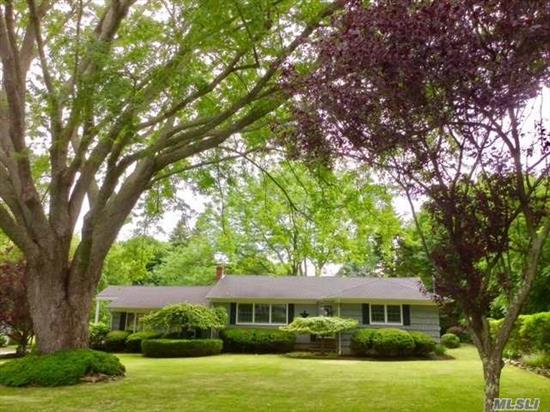 Pristine 3 Bedroom, 2 & 1/2 Bath Home On .66 Private Park Like Acre; Ample Room For Pool Quiet Street In Mattituck Estates. Kitchen W/Eating Counter 21/2 Baths Updated Electric   Windows Gutters And Roof.6 Yrs Old Open Floor Plan - Spacious Living Room , Dining Room, Each With Patio Doors To Deck And Patio. Full Basemen Great Location -