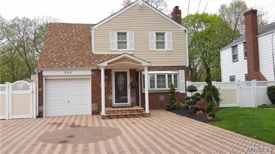 House Is Stunning! Diamond Colonial, Eik W/ Stainless Steel Appliances, Updated Baths, New Roof, Central Air, Fireplace, Beautiful Deck W/ Built-In Bbq & Fridge, Stone Fire Pit, Igs, Pvc Fence