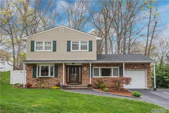 Move Right Into This Beautiful, Immaculate And Totally Updated Colonial, 4 Bdrms, 2.5 Baths, Lr, Dr, Granite Eik, Fam Rm W/ Fpl, Mbdrm/Mbath, Laundry On Main Level, Hdwd Flrs, Gorgeous Finished Basement, Pretty Private Fenced Yard, Igs, Cac, Alarm, Generator, Great Taxes!