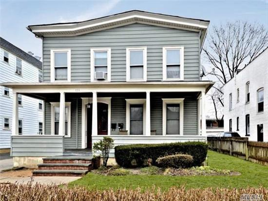 Turn Of The Century Two Family Home In The Heart Of The Village. Close To Transportation Lirr & Shopping Award Wining Rockville Centre Schools!