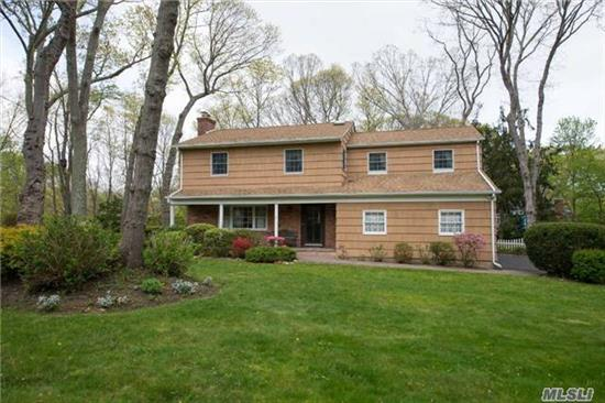 Beautiful Move Right In Colonial In Nassakeag Ridge! 4 Br, 3.5 Bath, Finished Basement, Refaced Kitchen Cabinets With Granite Counters, Rec Lighting Throughout, Updated Bath, Hardwood Floors, Lg Master Suite, Enclosed Patio, Deck, 9 Year Roof, 7 Zone Igs & More!