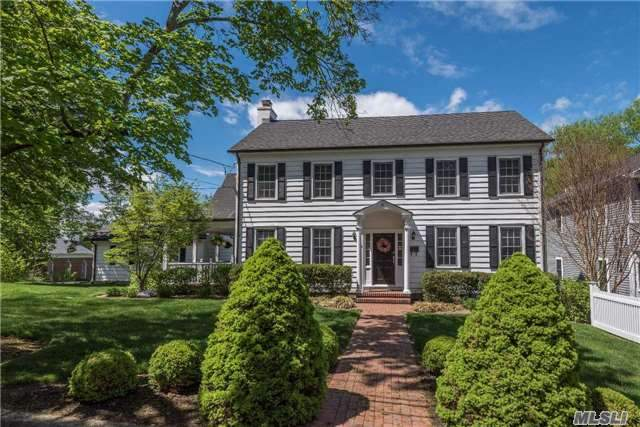 Stunning Village Home! Charming 4-Bd, 2.5-Bth Colonial In The Heart Of Huntington Village! Totally Renovated Down To Studs In 2003! Wonderful Maple/Granite/Ss Eat-In Kitchen. Mstr Suite With Ensuite Bth. Living Room W/Fireplace. Custom Moulding Details & Gleaming Wood Flrs. Updated Bths, Windows, Doors, Cac, Cvac, 2-Mahogany Decks & So Much More! Nothing To Do But Move In!