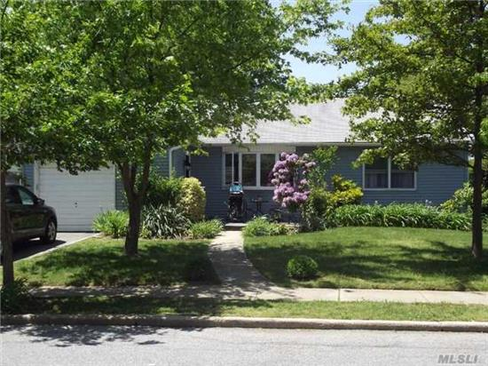 3 Br Ranch With Many Updates!!! Including Roof, Siding, Boiler, Bathroom, Indirect Hw Heater, Tank. Screened In Room Off Garage.