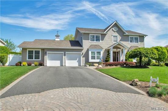 Outstanding Estate 5 Br, 3.5 Bath Colonial Featuring Formal Ef, Fdr, Flv W/Wood Floors, Eik W/Granite Counters, Ss Appliances Opens To Large Den W/Wood Burning Fpl, Guest Suite W/Full Bath & Ose, Mbr Suite W/Jacuzzi, Wic, Vaulted Ceilings, Basement W/Game Rm, 2nd Den, 6th Br, Ldry & Cedar Closet. County Club Back Yard, Outdoor Viking Kit, Azek Deck, Lazy L Ig Pool.