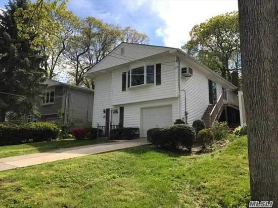 A Nice Great Inline Hi Ranch. Totally Remodeled. All New Appliances, Ref, Stove, Dish Washer, Micro Wave, Washer And Drier. Wood Floors Thought Out 2nd Flr. Granite Counter Tops. Huge Rap Around Deck With Operating Awning. Just Steps Away From A Beautiful View And Sound Beach. Path To Beach Just Ne Of This Amazing Property, Must See!! Your Buyers Will Be Amazed!