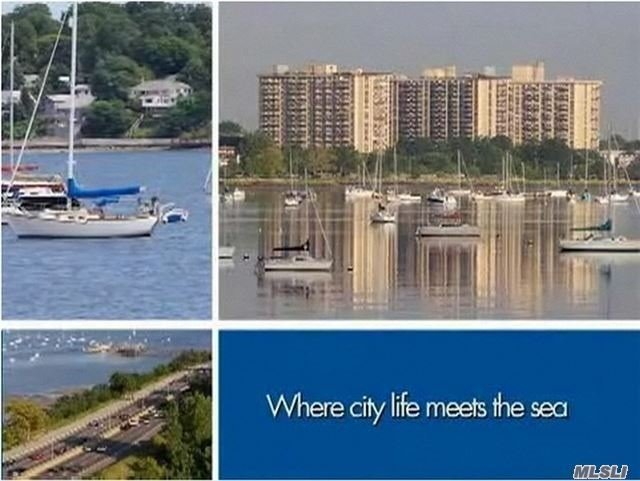 Enjoy 5-Star Luxury Living Year-Round In This Immaculate Corner Unit In One Of Bayside's Most Luxurious Communities. Penthouse Two Bdrm Deluxe With 9 Ft Ceilings, 2 Full Bath, 2 Balconies W/Breathtaking Unobstructed Panoramic Waterviews Of Little Neck Bay And The Long Island Sound. 24Hr Doorman, Shopping, Arcade, Pool, Gym, Tennis, Salon And More! Luxury At Its Finest!