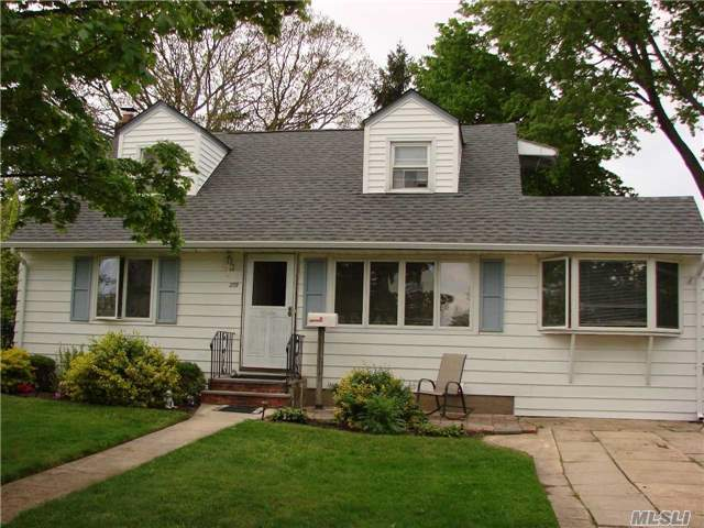 Expanded Cape With Eat-In-Kitchen, Sliders To Yard, 2 Bedrooms On Main Floor, Den, 2 Bedrooms Upstairs With Full Bath On Each Floor. Great Opportunity To Customize, Flexible Floor Plan, Finished Basement. Roof Approximately 10 Yrs, 200 Amp Service.