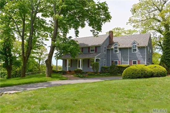 Spectacular Waterviews Are Yours!  Private And Serene 4 Acre Property. Beautifully Maintained Colonial With Renovated Kitchen And Baths. Deeded Beach Rights To Gracewood Beach Assn./Annual Dues. Taxes Successfully Grieved For 2018/19.