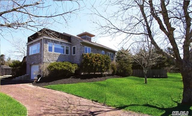 Located On A Secluded Bayfront Lane, This Renovated Traditional Offers 4 Br, 3 Baths, New Swimming Pool With Lovely Backyard. This Home Is Steps From The Bay. Enjoy Cool Breezes All Summer Long From Moriches Bay & Enjoy Fantastic Sunsets From The Roof Deck. This Property Has Central Air Conditioning. A Right Of Way To Docking Rounds Out This Great Buying Opportunity.
