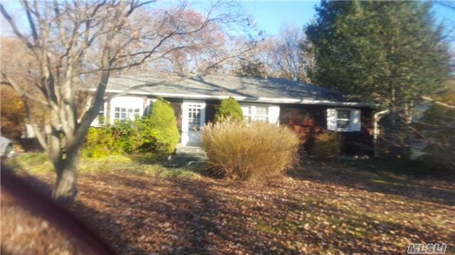 A Very Well Built Ranch On A Quite Street{ It Does Not Go Thru To Woodside} The Property Is 85X258 With A Deck Overlooking The Koi Pond. The School Yard Is A Neighbor . There Is A Large Det. Garage. The Kitchen Has Been Updated With A Large Den Opening On To It. Most Of The Floors Are Wood.....House Is In Excellent Condition