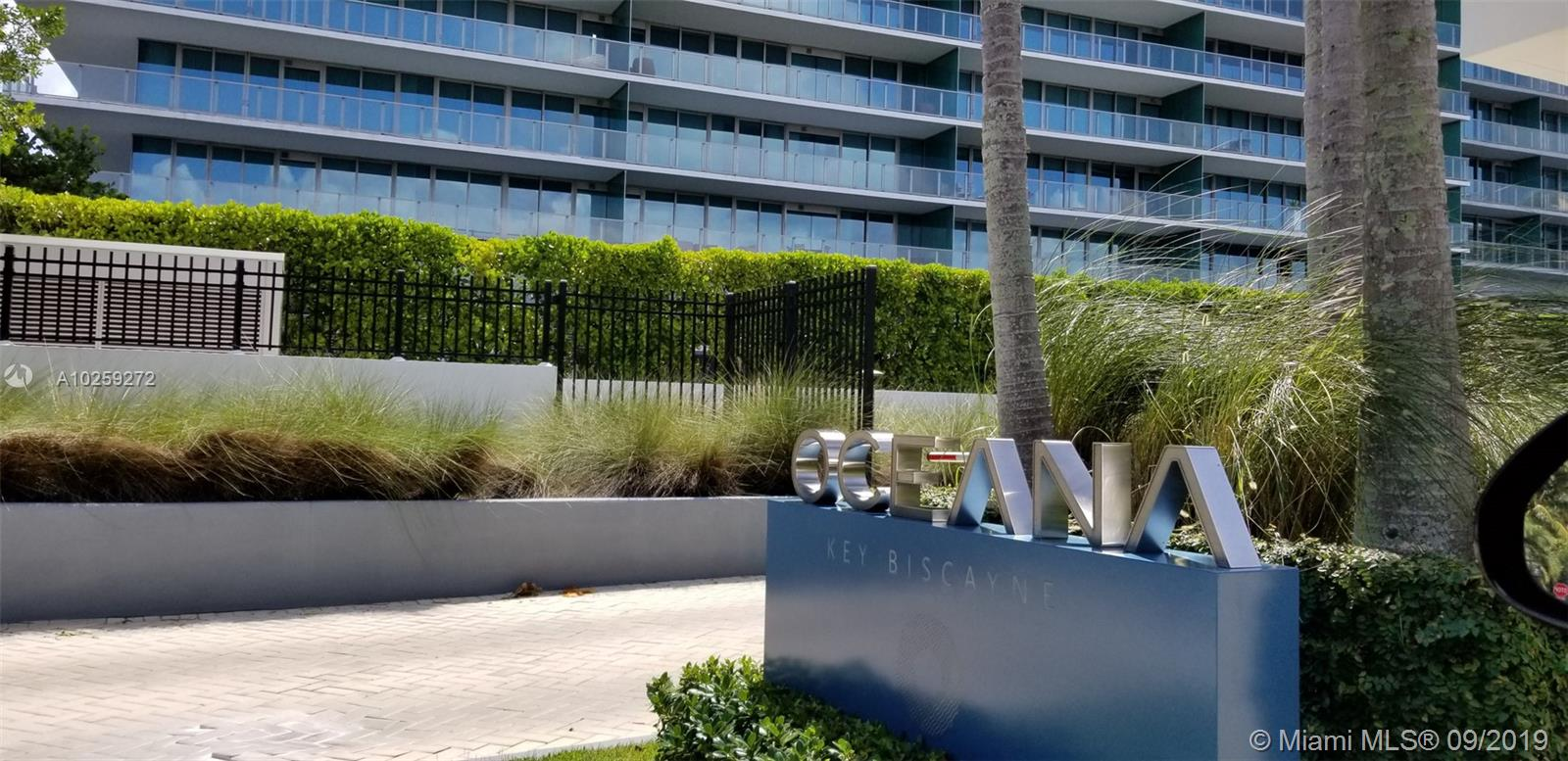 Best North Corner Unit In The Oceana Key Biscayne In A Prestigious Building In So. Fl., Great Open Views To Atl. Ocean, Mia. Bch, Fisher Isl., Key Biscayne. This Wonderful Property W/ 4, 080 Lasqr Has 4 Beds, A Service Room, 7 Baths, Large Laundry Room An D A Huge Wrap Around Balcony With 2, 070 Sqf. 4 Parking Spaces. White Quartz Counter Tops, Master Chef Double Oven, Hole Bean Coffee System, Wine Cooler. Unique Residence Lobby, Infinity Pool, Fitness Center And Top Of The Spa. Tennis, Volleyball & More.Seller Motivated Make An Offer !!!