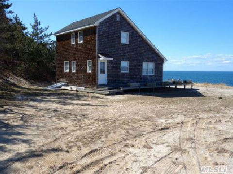 Ultra Waterfront Privacy! Remote No Bluff Soundfront With Nantucket Shinge Style 2 Story. Quiet And Tranquil Location. Pristine Shore For The Ultimate Privacy Seeker.Meticulously Maintained,  A Rare And Exceptional Location!
