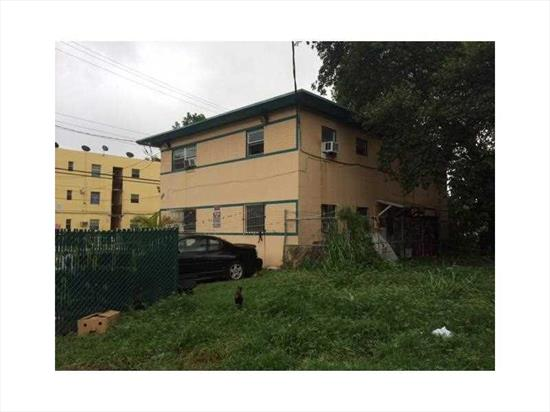 Multifamily Building W/4 & Tenants In Place. Great Opportunity To Own Property In An Area Scheduled To Become A Techonolgy Park Called Miami Innovation District, Discussions With Top 10 Tech Companies To Help Develop This Area. Nine Tower Project Planned And 10 Acres Assemblage Recently Purchased For 120M By Simkins. Your Client Could Position Themselves In Favorable Financial Position By Owning This Property. This Is Also Located North Of Woldcenter Project. A Fantastic Place To Own Now.