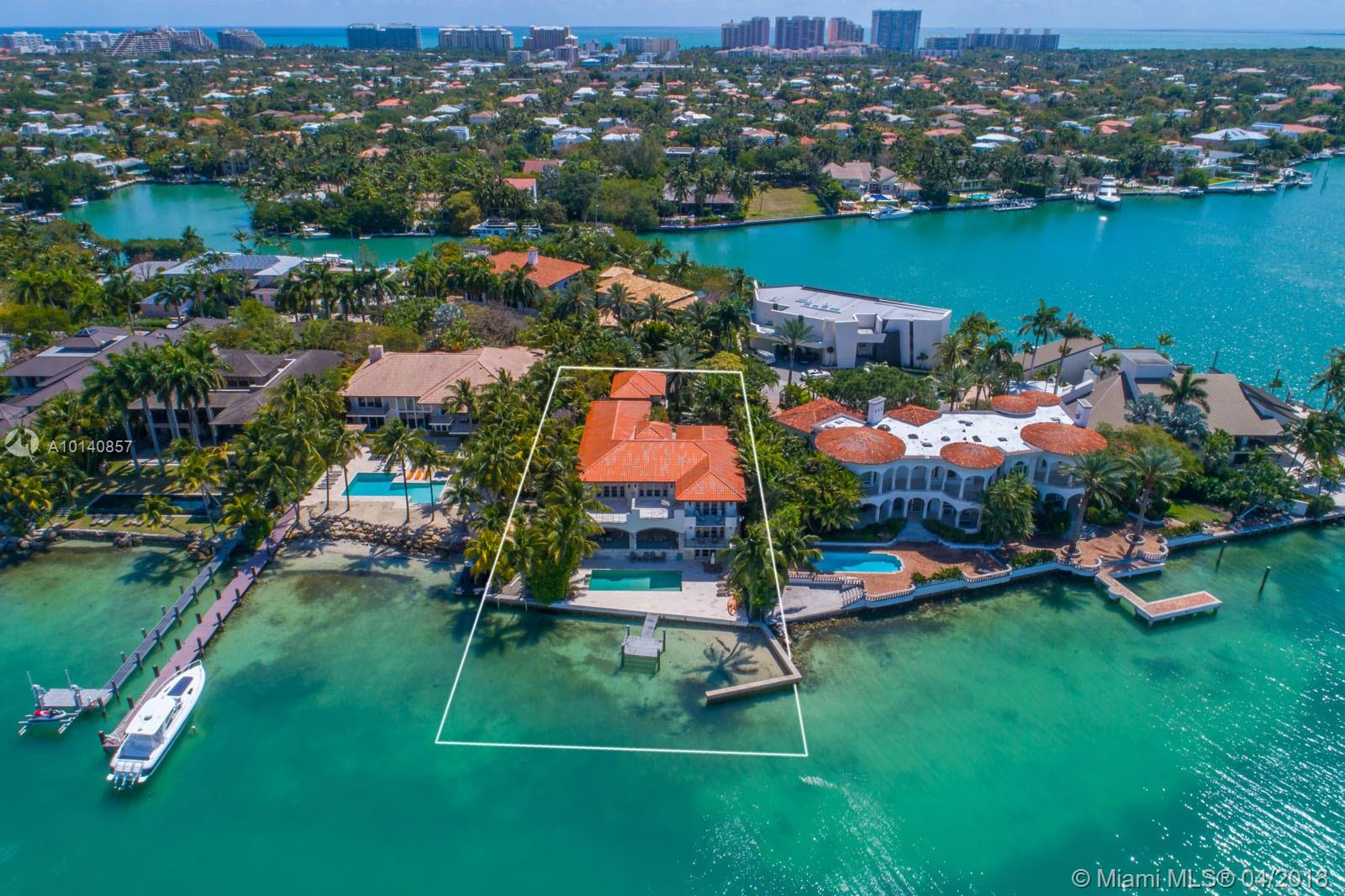 Absolutely Stunning, Magnificent And One Of A Kind 2 Story Estate Which Offers Breathtaking Panoramic Views Of Biscayne Bay. Designed To Enjoy Every Room In The House With Exquisite Architecture, Comfort, Elegance And Charm. Approx 7, 500 Sq Ft Of A/C, 19, 085 Sq Ft Of Land .. 7 Bedrooms, 8.5 Baths, Office, Family Room, Formal Living And Dining Room Areas, Gourmet Kitchen, 3 Car Garage, Gorgeous Terraces, Small Man Created Beach And Wonderful Dock.Located On Exclusive Harbor Point This Is A Dream Come True.
