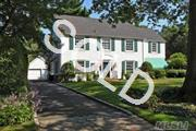 Traditional Ch 4Bdrm Col,Mstr Suite With Off,  Large Updated Eik, 2 Generous Family Rms, Lr, Dr, 2 Fireplaces, Pwdr Rm, Mud Rm, Brick Patio, Igs, Architectural Details Throughout