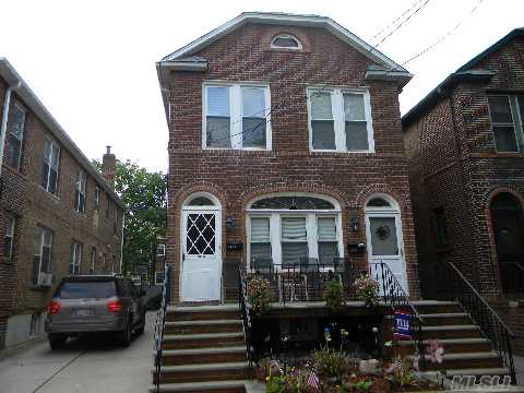 All Information Should Be Independently Verified. Solid Brick Fully Detached 2 Family Located In The North Flushing Area. Spacious 3 Bedrooms Over 3 Bedrooms With A Full Finished Basement. Near All Shopping And Methods Of Transportation.