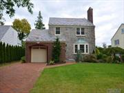 Totally Renovated Stone And Brick Colonial.  Beautiful Kitchen With Marble Counter Tops, Lr/Fpl, Den/Sliding Doors To Backyard.  Cac.  Professionally Landscaped, Blue Stone Patio, Slate Roof Plus Oversized Brick Driveway. Near All!