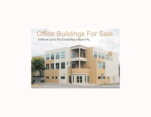 Marquee Quality Office Building! Class A Finishes-Superb Location On Coral Way (Sw 22 St.) 5 Min. To Brickell,  Downtown,  Key Biscayne,  Coral Gables. Corner Lot-Modern,  2 Story,  Multi Tenant Building Offers The Astute Investor/User A Current 7.5% Cap Rate & The Oppty. To Occupy Space If Desired. Separate 3600 Sq. Ft. Building Has Professional Offices But Allows A Multitude Of Uses. Parking For 46 Cars - Over A Half Acre On Coral Way Makes This One Of The Most Attractive Office Building Investments In Miami