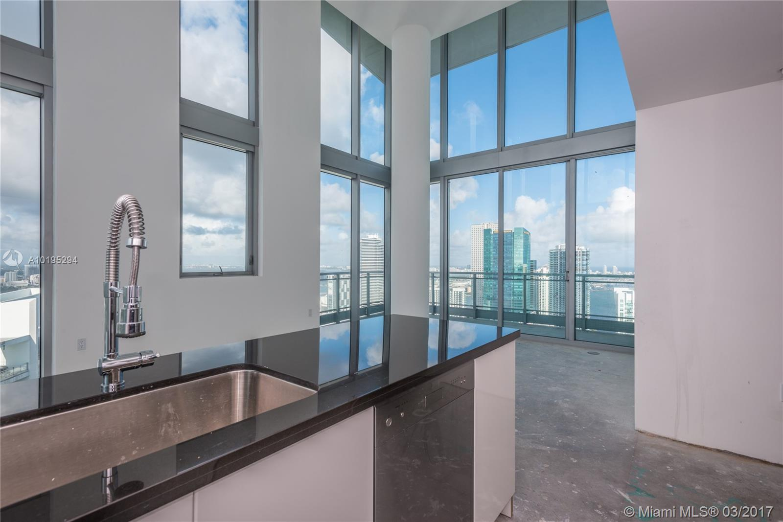 Best Corner Ph At Mint. This Designer Ready Ph Features 3Br/2.5Ba With 270 Degree North, East & West Views Spanning All Of Miami Skyline. Stunning Double Height Floor-To-Ceiling Windows Frame Open Kitchen & Living Area Boasting Breathtaking Views Of Bay, Miami River, Aa Arena, South Beach & Distant Ocean Views. Master Suite Features Private Corner Balcony With Views Of The Bay & River. Ensuite Master Shower With Frosted Glass Adjacent To Room Has Direct Views, Dual Sinks, Separate Standard & Walk-In Closet Space. Design To Your Taste! Walking Distance To Brickell City Centre And Brickell Hotspots!