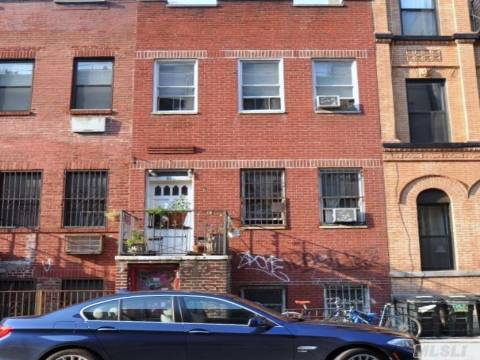 """Three Family Home With Three One Bedroom Apartments.  Second And Third Floor May Be Converted To Small Two Bedroom Apartments. Great Location. House Being Sold """"""""As Is""""""""."""