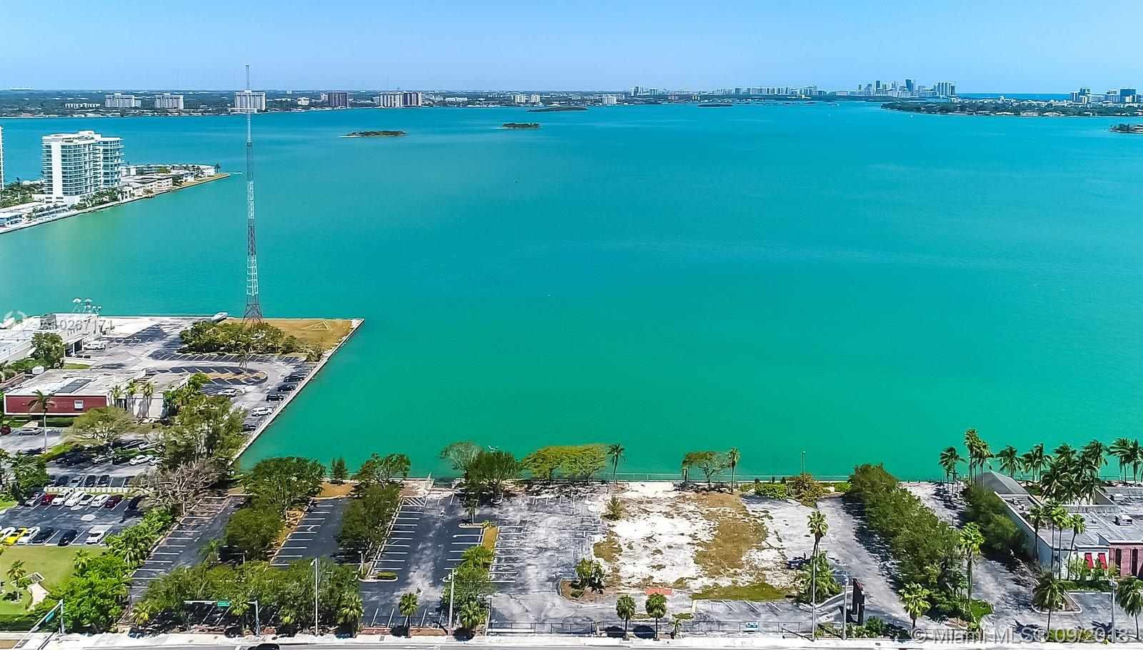 Open Wide Bay Front Spectacular View!<Br />Waterfront Lot, Almost 2 Acres. Open Bay View. Mixed Use Lot In North Bay Village.<Br />Project, Residential, Offices And Retails. All Plans Approved. Call Us For More Information.