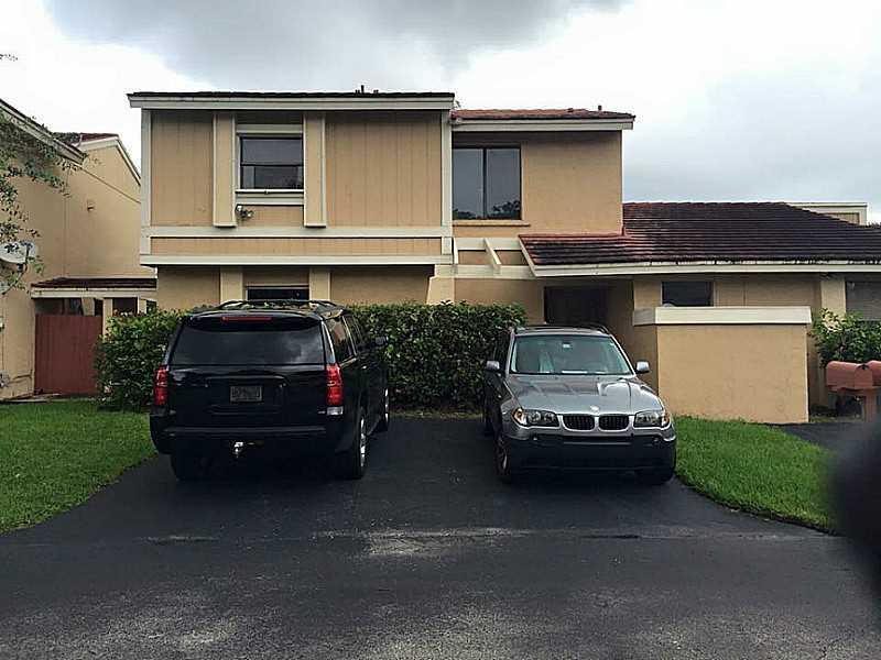 Property Features Tiled Floors, Updated Kitchen W/ Backsplash And Wood Cabinetry, Stainless Steel Appliances, Updated Bathrooms, New A/C Compressor, Newer Roof, Low Maintenance, Private Fenced Backyard With Concrete Patio And Palm Trees. Conveniently Loca Ted Close To The Turnpike, Miami Metro Zoo, Shopping And Restaurants. Community Has A Pool & Playground. Ready To Move In, Just Bring Your Toothbrush! Not A Short Sale Not Reo. Regular Sale.