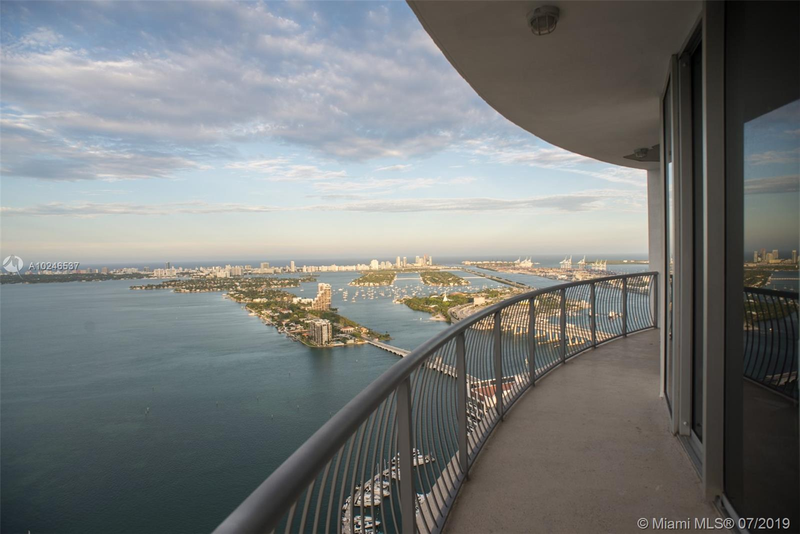 Breath Taking 180 Degree Views From This Penthouse Unit! Gorgeous 2/2 With 12-Foot High Ceilings In The Resort-Style Building Of Opera Tower. Opera Tower Has A Circular Architecture Which Is Was Designed By Rolando Llanes. This Is One Of The Best Units In This Building. Enjoy Views To South Beach, Star Island, Fisher Island, Port Of Miami Etc. Amenities Include Fully-Equipped Business Center, State-Of-The-Art Fitness Center With Cardio And Training Equipment. Owner Financing Available Up To 65%.