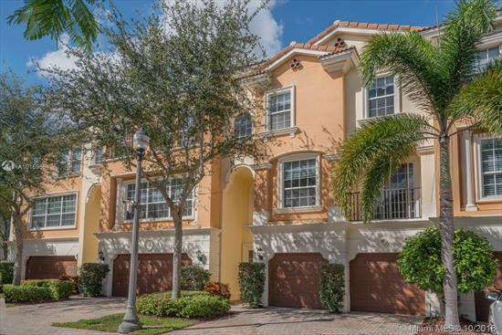 Welcome Home, To This Fantastic 4 Bedroom, 2 Bath, And Two 1/2 Bath Townhome. Located In The Lovely Trieste Community, This Townhome Is Minutes From The Beach And Situated East Of I-95. Trieste Boasts A Pool And Other Excellent Amenities; This Is One Of The Best Deals In Boca Raton Area.