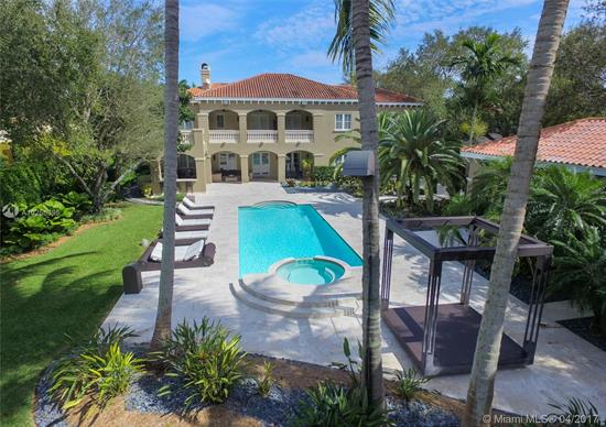 Over 1.3 Million Dollar Price Reduction!!Pinecrest Estate That Runs Street To Street! 7Bed/7.5 Baths, 2 Stories, Formal Living/Dining, Gourmet Kitchen, All S/S Appliances, Butler+Ógé¼Gäós Pantry, Walk-In Pantry, Daily Dining Area, Kitchen Overlooks Lg Fam Rm. 2Nd Floor Feat. Master Bedroom W Sitting Area & 2 Master Closets That Carrie Bradshaw Would Covet, 3 En Suite Bedrooms, 2Nd Fam. Rm & Wet Bar, High Ceilings, Central Vac. Separate 1/1 Guest House. Feature Also Pool, New Summer Kitchen, Cool Misting & Mosquito System, 3 Car Garage, Camera System.